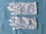 Cleanroom ESD-Kurbelgehäuse-Belüftung punktierte Arbeits-Handschuhe