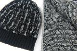 Шарф Beanie шарфа зимы Mens Unisex теплым установленным связанный кабелем (SK807S)