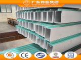 profils en aluminium du mur 6000series rideau avec le certificat de TUV