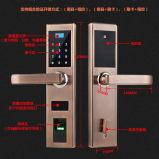 Serrure de porte numérique sans clé multifonctionnel d'empreintes digitales biométriques avec le code de verrouillage de porte et de la télécommande