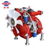 Wassergekühlter Dieselmotor, Zylinder drei für Wasser-Pumpe, Feuer-Pumpe und Dieselgenerator-Set