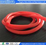 La FDA la manguera de silicona de grado alimenticio, Semi-Transparent malla de fibra de tubo flexible de silicona