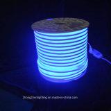 IP65 au néon de lumière LED double face de la lumière bleue 110V 8*16mm