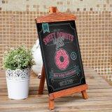 Mini quadro decorativo no restaurante, barra, loja com logotipo personalizado
