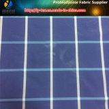 100d DTY пряжи Вся обшивочная ткань синий Клетчатую/проверьте ткань