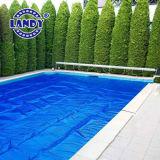 プール、絶縁体のための青いカラー泡泡の太陽カバーは温度を保ち、