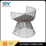 Accueil Mobilier fauteuil avec table de café en métal