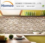 De nieuwe Ontworpen Mooie Tegel van het Mozaïek van het Glas van de Strook van de Kleur Glanzende voor de Decoratie van het Huis