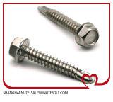 Vis Drilling DIN7504K St6.3 de la rondelle 316 de l'acier inoxydable 304 d'individu Hex de tête