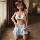 Erwachsene Produkt-reale Silikon-kleine Mädchen-Minigeschlechts-Puppe 110 cm