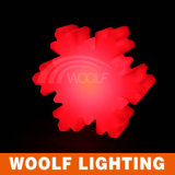 Indicatore luminoso del fiocco di neve della decorazione di natale dell'indicatore luminoso della neve di natale del LED