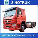 الصين رخيصة كبير [هووو] ديزل شاحنة جر لأنّ مقطورات عمليّة بيع