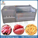 Van de borstel het Schoonmaken en van de Schil Machine voor Aardappel