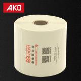 Étiquettes directes de empaquetage de découpage de logistique d'étiquettes d'expédition d'usine de papier de desserrage
