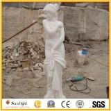 庭動物の彫像のための石造りの花こう岩の大理石のライオンの彫刻