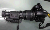 De draagbare Visie van de Nacht met Camera HD voor Politie op het Werk