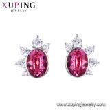 Xuping encantadores diseños de joyas cristales de Swarovski Mujer Fancy espárragos pendientes