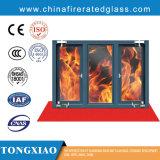 Brand Geschatte Vensters met Laag Ug Vuurvast Glas