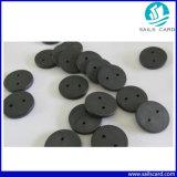25.5mmのPPS材料が付いているカスタム印刷RFIDの洗濯の札