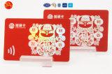 Cartão de Visita em RFID, Smart Card, preço baixo do cartão de identificação com foto de PVC/TK4100 cartão chip fornecedor na China