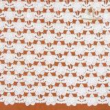 上の販売の網の結婚式の刺繍の有機性綿のギピールレースのレースファブリック