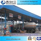 O refrigerante C3H6 propeno para o ar condicionado