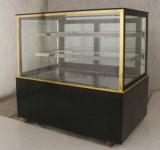 LED 가벼운 상업적인 전시 케이크 냉장고 진열장