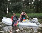 bateau gonflable rigide de côte de bateau en caoutchouc gonflable de vitesse de 3.3-8.3m