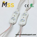 China 2835 Módulo 2 LED pantalla LED para el módulo de inyección con lente - China SMD LED de luz módulo módulo