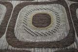 Tela del sofá del Chenille de Gemotric África (FTH31149)