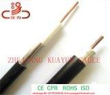 Koaxial-Kabel PET Umhüllung Fernsehapparat-Antennen-Kabel Fernsehapparat-Rg59 für Überwachungskamera