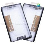 L'imballaggio di carta di vetro Tempered della protezione Premium su ordinazione dello schermo, seleziona la pellicola protettiva che impacca la scatola di plastica