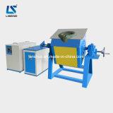 horno fusorio del hierro 10kg de la inducción de acero del desecho IGBT