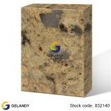 高い硬度の台所カウンタートップのCalacattaの金の水晶石