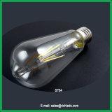 St64 10W LED regulável de lâmpada de Edison /lâmpada de incandescência/Ce/RoHS//Luz de Iluminação