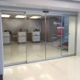 Automatique des portes coulissantes en verre télescopique