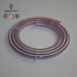 非PVC -ねじりのファイバーの空気状態のための編みこみのプラスチック管PVC網のホース