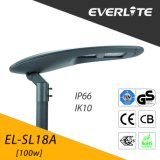 Lâmpada de rua do diodo emissor de luz de Everlite 100W com Ce TUV-GS dos CB