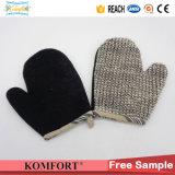 Natürlicher Holzkohle-Sisal-Exfoliating Wäscher-Bad-Produkt-Geschenk-Schwamm-Handschuh