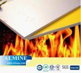A2 incêndio - painel composto de alumínio resistente