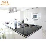 Moderner Hauptmöbel-hoher Glanz-Lack-hölzerner Küche-Schrank
