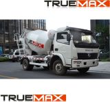 Concrete New Heavy Truck To mix and Upper Leaves