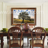 Home Decoration를 위한 100% Handmade Landscape Tree Oil Paintings