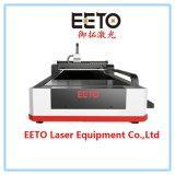 Высокое качество автомата для резки лазера волокна 1000 ватт с одиночной таблицей