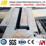 Plaque en acier CNC de coupe de la flamme de 2mm épais feuille de métal