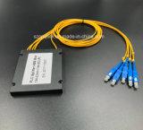 光ファイバケーブルのGponのテレコミュニケーション1X4のプラスチックの箱PLCのディバイダー