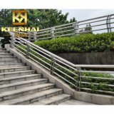 China Stainless Steel Glass Stair balustrade for halls