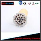 Élément de chauffe et élément de chauffe électrique avec le contrôle de température