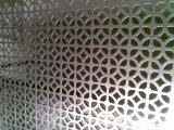 Оцинкованный Перфорированная стальная сетка для декоративной