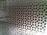 Engranzamento de aço perfurado galvanizado para decorativo